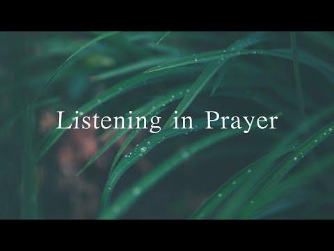 Listening in Prayer (David Wilkerson)