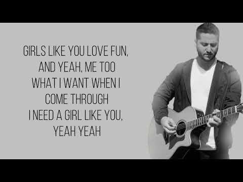 Girls Like You - Maroon 5 (Boyce Avenue acoustic cover) [Full HD] lyrics