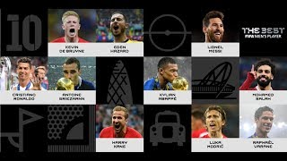 The Best FIFA Men's Player nominees revealed!