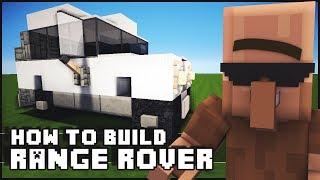 ► Minecraft : How to Make - Range Rover