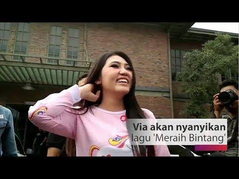 Keren! Via Vallen Siap 'Go International' Lewat Theme Song Asian Games 2018
