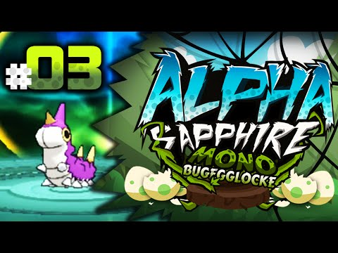 "Pokemon Alpha Sapphire MonoBug EGGLOCKE Let's Play w/ aDrive Episode 3 ""Amethyst's Fate"""