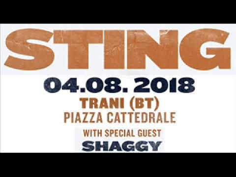 STING & SHAGGY - Waiting For The Break Of Day (Trani, IT 04-08-2018) (AUDIO)