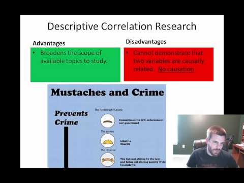 Lesson #4 - Descriptive and Correlational Research