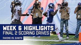 Odell Beckham Jr. Scores Game-Winning TD After Ravens Take the Lead!   Week 6 Highlights   NFL