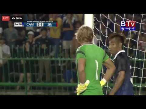 Cambodia vs Singapore 28/07/2016 (CAM 2 : 1 SIN)  FULL TIME