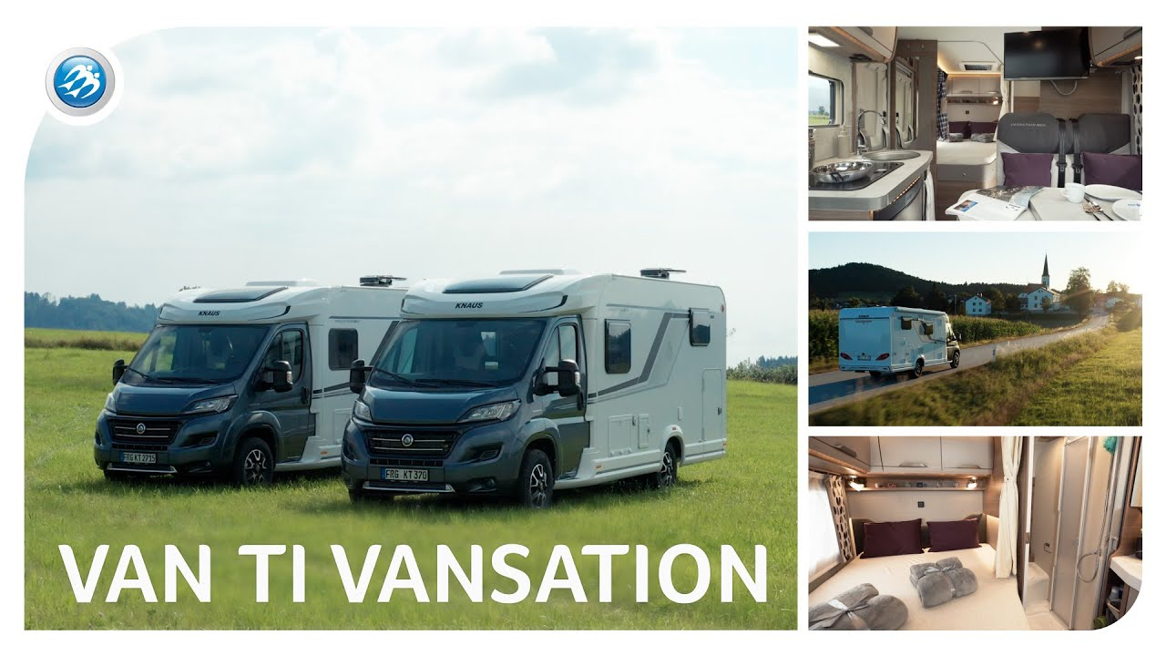 The Best compact KNAUS Motorhome? VAN TI VANSATION 2021 - RV Review