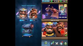 LEGENDARY KING CHEST OPENING?! (Clash Royale) GAMEPLAY