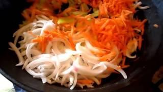 Борщ видео рецепт. Борщ с фрикадельками и фасолью. how to cook borsch