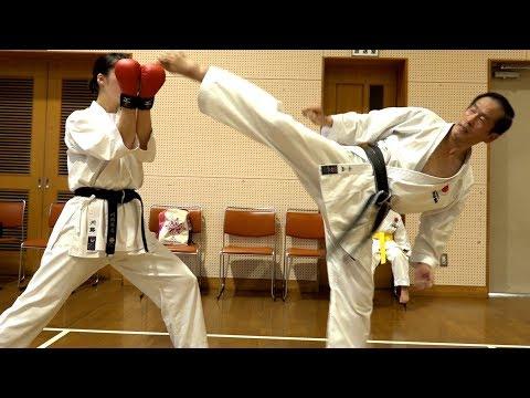 61歳が教えるハイキック練習法!A 61-year-old-karate fighter's High Kick class.