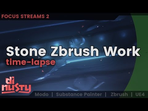 Focus Streams [2]: Stone work in Zbrush