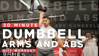PMA Fitness || 20 Minute Arms & Abs Workout w/ Dumb Bells