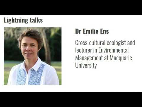 CitSciOzOnline EMCR: Cross-cultural Collaborative Science with Australia's First Scientists - Dr Ens