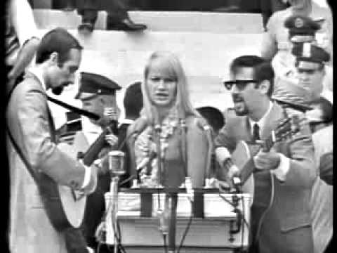 Blowing in the wind Peter Paul n Mary