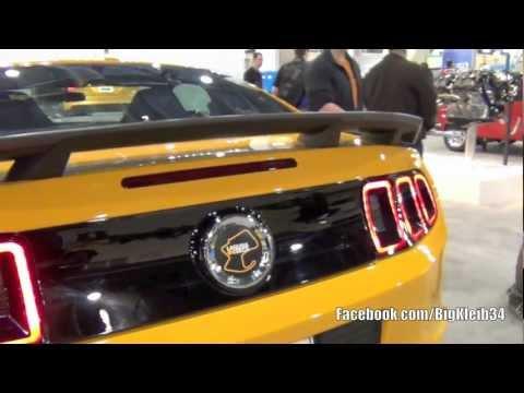 2013 Mustang Boss 302 Laguna Seca Edition