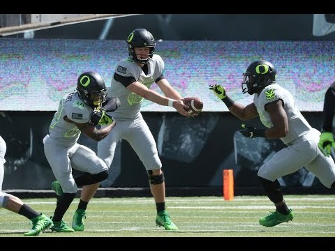 Video highlights from Oregon Ducks' spring football game