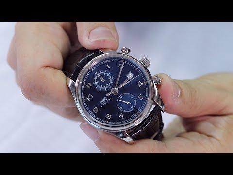【自製影片/實在開箱】第九集 IWC 葡萄牙計時碼錶經典版