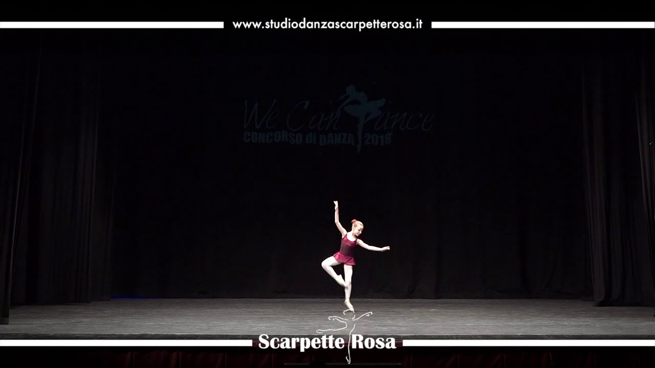 more photos b6368 a14b0 Studio Danza Scarpette Rosa - Boogie Woogie Piano - Concorso Nazionale We  Can Dance 2018
