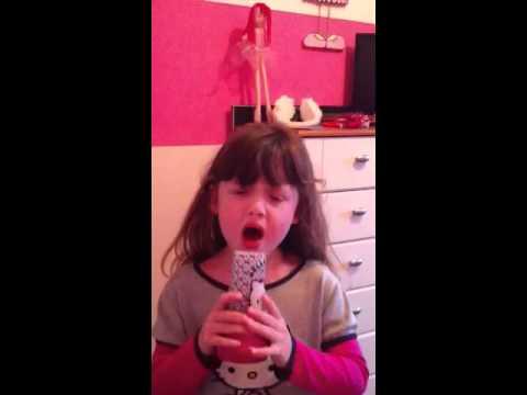 Ella-Mae singing