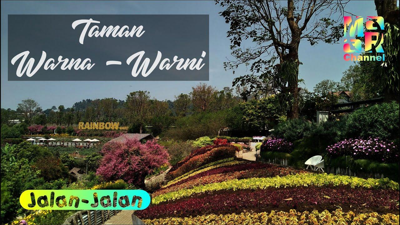 Rainbow Garden Lembang Bandung Barat - YouTube