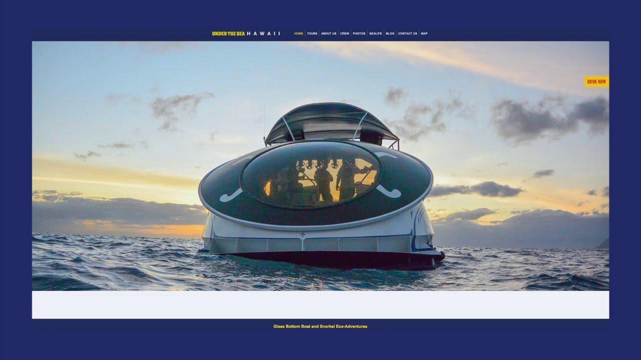 Bottom oahu glass boat