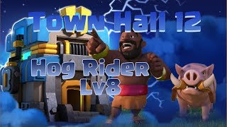 TH12 | Hog Rider LV8 | 3 Stars War TH11 | ClanVNN #649