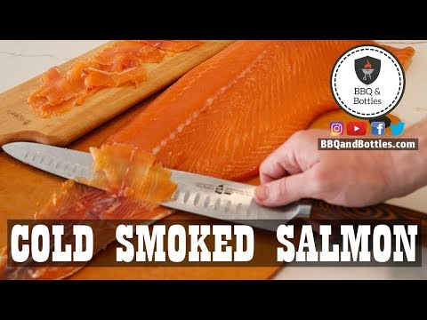 Cold Smoked Salmon (aka Gravlax)