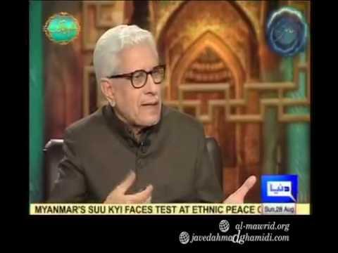 Javed Ahmad Ghamidi  Bacha khan