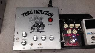 Shaw Audio Tube Injection Instrument DI Preamp Pedal Bass Acoustic Guitar