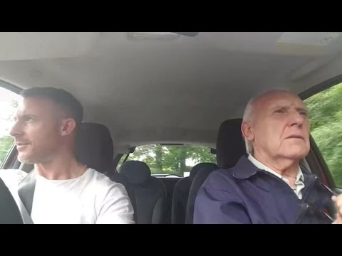 Son does carpool karaoke to bring back father with Alzheimer's