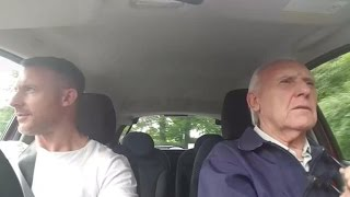 Son does carpool karaoke to bring back father with Alzheimer