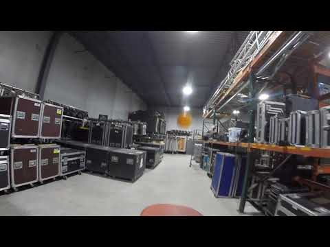 Ping Pong Guy Tours Warehouse Pt. 2 | Wired Production Group