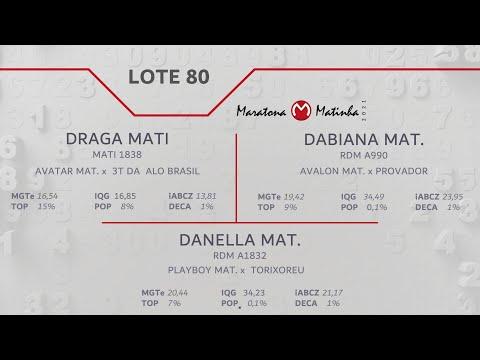 LOTE 80 Maratona Matinha
