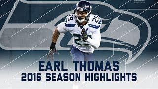 Earl Thomas' Best Highlights from the 2016 Season | NFL