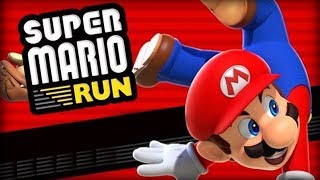 Super Mario Run - Nintendo Co., Ltd. World 1 Level 1 2 Walkthrough