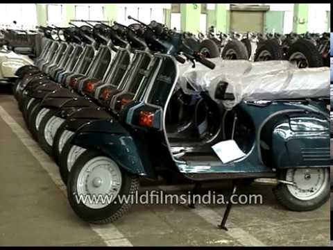 Bajaj Chetak Scooter Factory In India Two Wheelers For The Masses