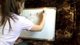 смешной урок рисования