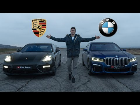 DRAG RACE! BMW 750i vs Porsche Panamera Turbo + Tuned RS6 C7 Bonus.