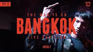 "TWIO4 : STAGE#4 BANGKOK PT.2 ""CYPHER"" (LIVE AUDITION) 
