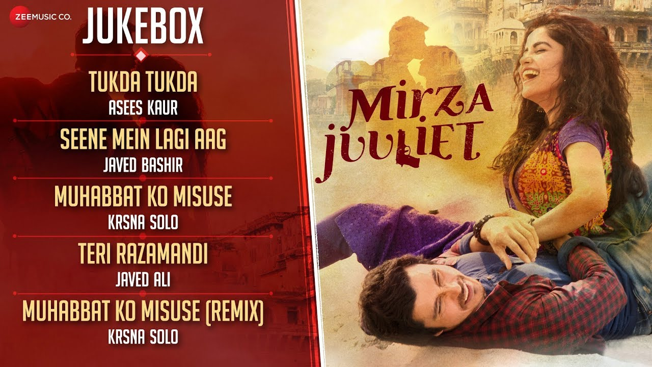 Download Mirza Juuliet - Full Movie Audio Jukebox | Krsna Solo & Dj Notorious