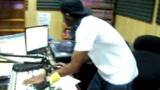 DJ Inferno at fame 95 fm studio 2