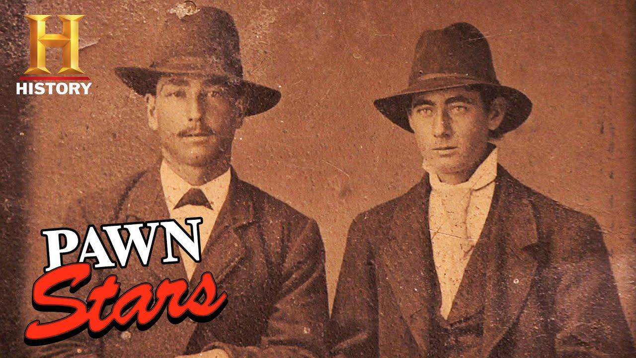 Pawn Stars: RIDICULOUSLY RARE Photo of OUTLAW Jesse James (Season 5)   History