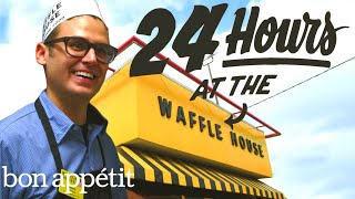 Gambar cover Working 24 Hours Straight at Waffle House | Bon Appetit