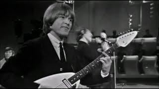 The Rolling Stones Live on the TAMI Show 1964 (Brian Jones Plays His VOX Teardrop Guitar)