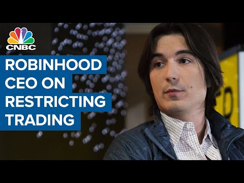 Robinhood CEO: We Made The 'Correct' Decision In Restricting ...