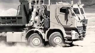 Бронированные грузовики Actros AHSVS Mercedes Benz Daimler Unimog