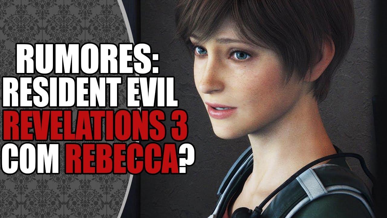 Resident Evil OUTRAGE = Resident Evil REVELATIONS 3 com Rebecca Chambers?! 😱🔥 | DATABASE NEWS