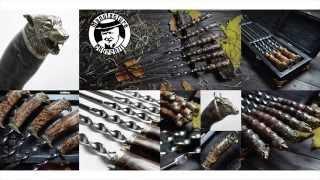 Производство элитных шампуров ручной работы CHURCHILL MANUFACTURE