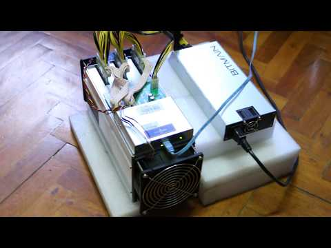 Antminer S9 16nm Bitcoin Miner Test Video