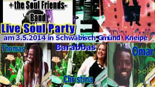 Funky Kulla+the Soul Friends Band im Barabbas 3.5.14